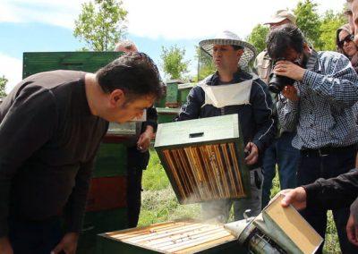 Makedonya'da Saha Gezisi ve Eğitim